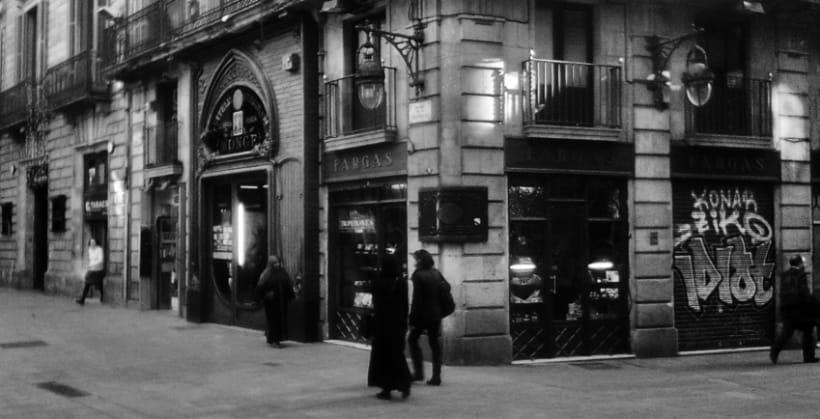 Barcelona    Blanco y Negro 5