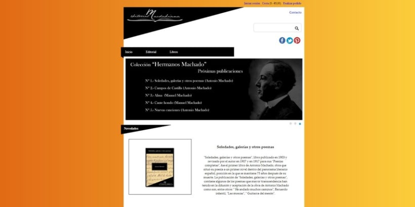 Diseño imagen corporativa para EDITORIAL MACHADIANA 4