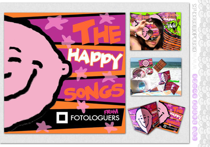 """The Happy Songs"": maquetación musical... 0"
