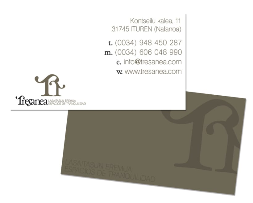 Diseño de marca para Tresanea Apartamentos Turísticos 3