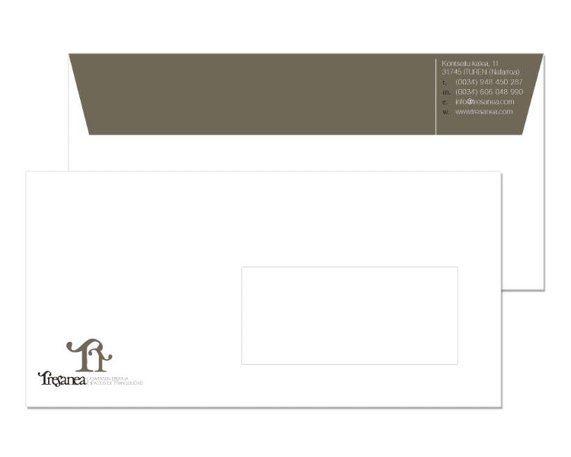 Diseño de marca para Tresanea Apartamentos Turísticos 5
