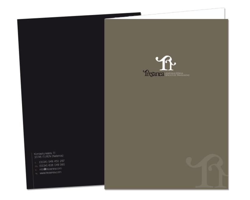 Diseño de marca para Tresanea Apartamentos Turísticos 6
