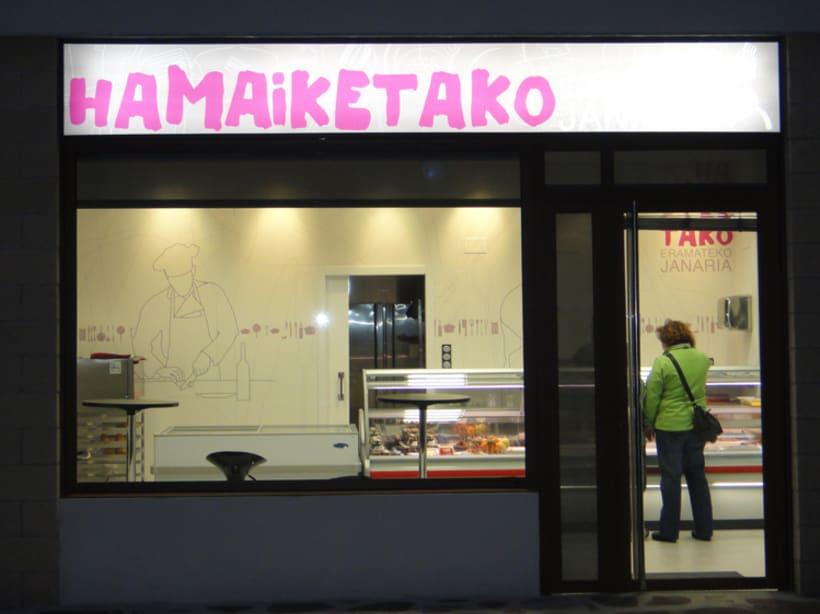 Diseño de marca para Hamaiketako, comida para llevar 3