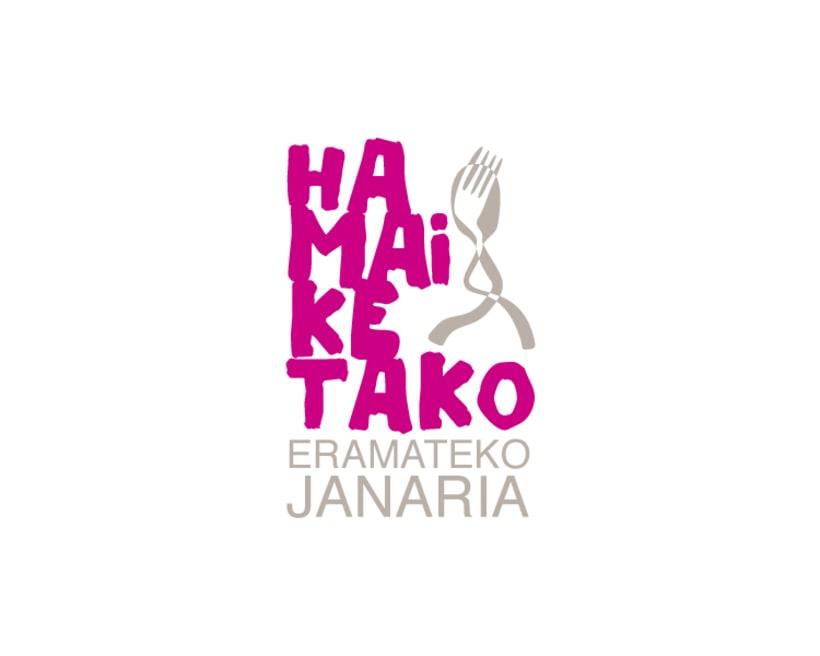 Diseño de marca para Hamaiketako, comida para llevar 4