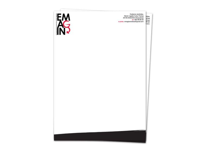 Diseño de marca para Emagin, centro de documentación e investigación feminista  1