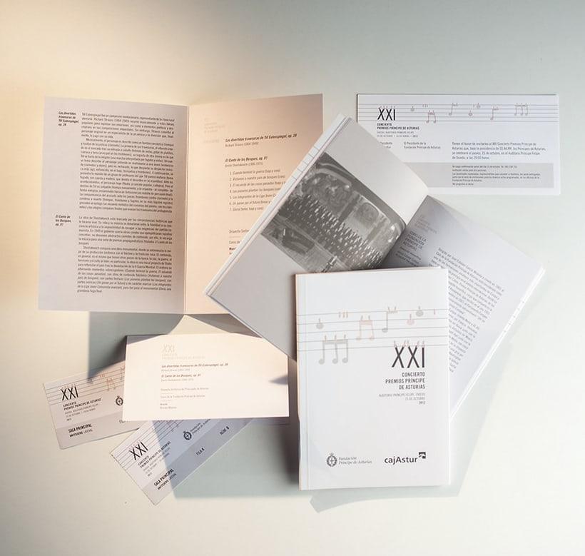 XXI Concierto Fundación Príncipe de Asturias 1