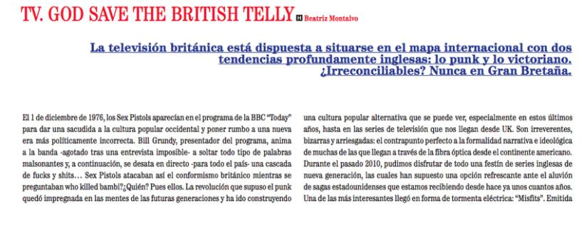 Especial sobre televisión británica -1