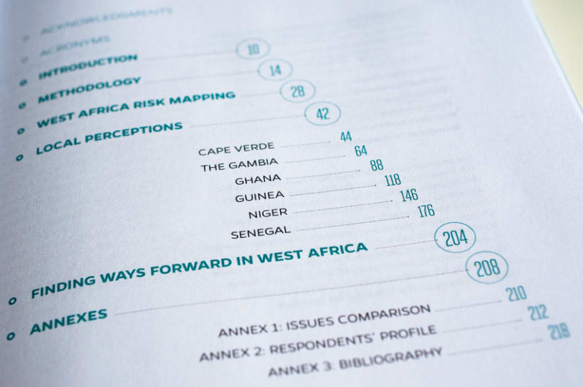 Risk reduction index in West Africa 2