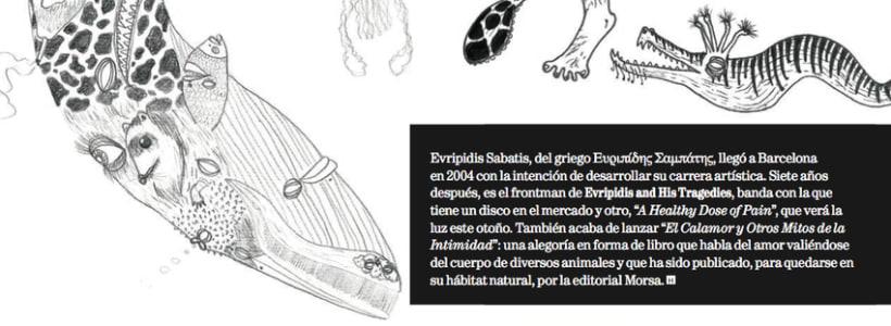 Entrevista a Evripidis Sabatis acerca de su primer libro 0