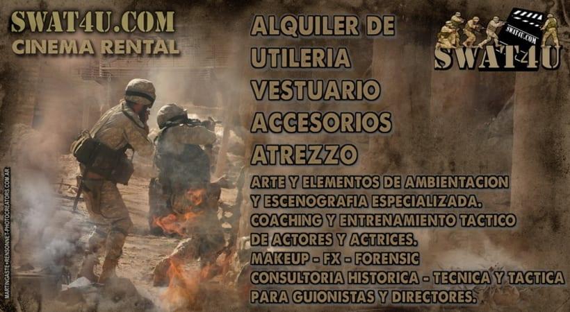 swat4u - vestuario - utileria - atrezzo 1