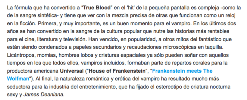 'True blood' 1