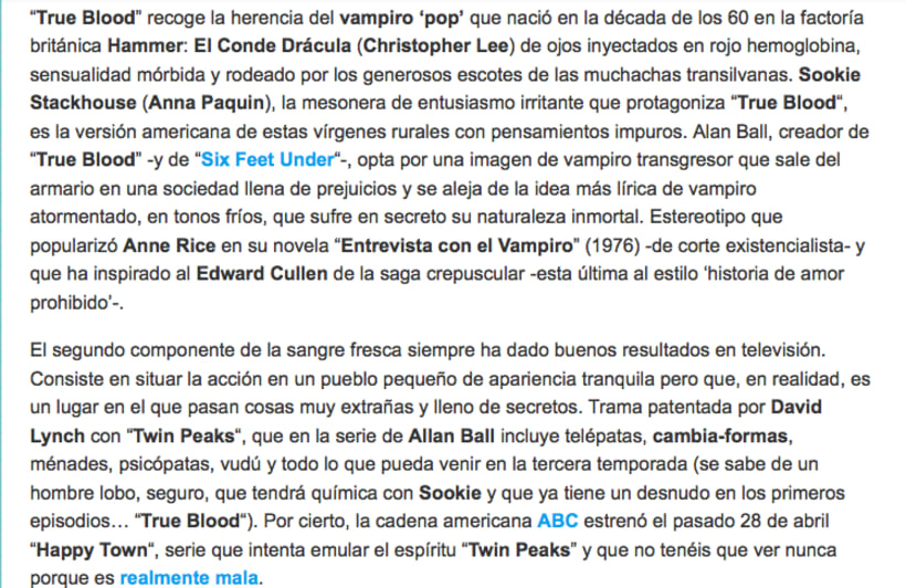 'True blood' 2