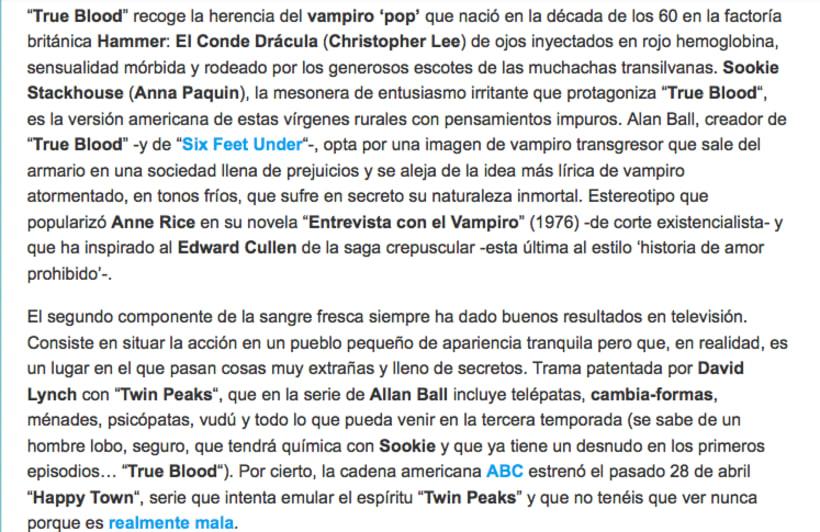 'True blood' 2
