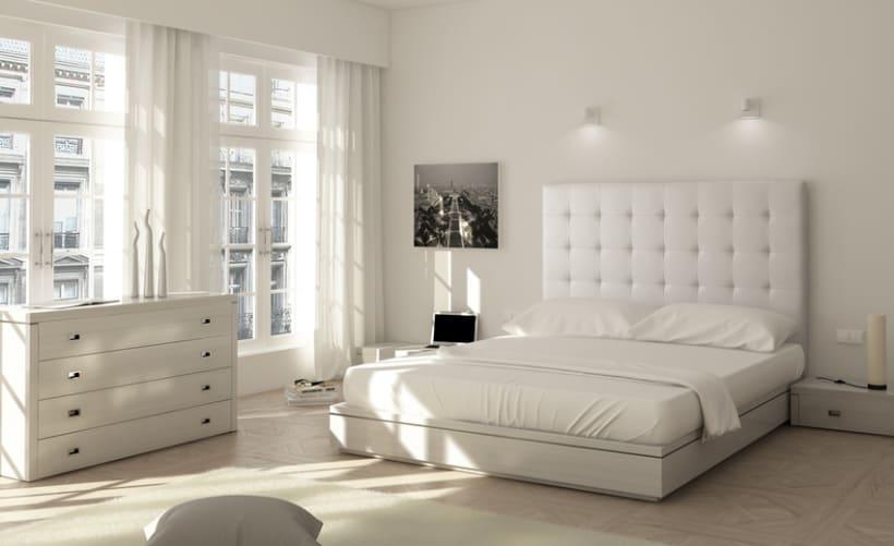 bedheads renders 3d habitaci n interior domestika On crear habitacion 3d