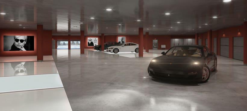 APARTMENT IN SWITZERLAND. Renders 3D Apartamento Interior 4
