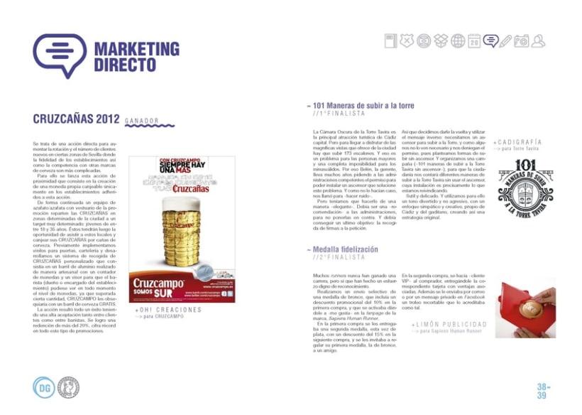 Premios de Publicidad Agripina. Anuario 2013 6