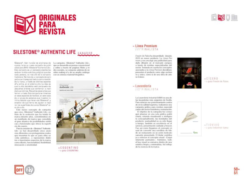 Premios de Publicidad Agripina. Anuario 2013 7
