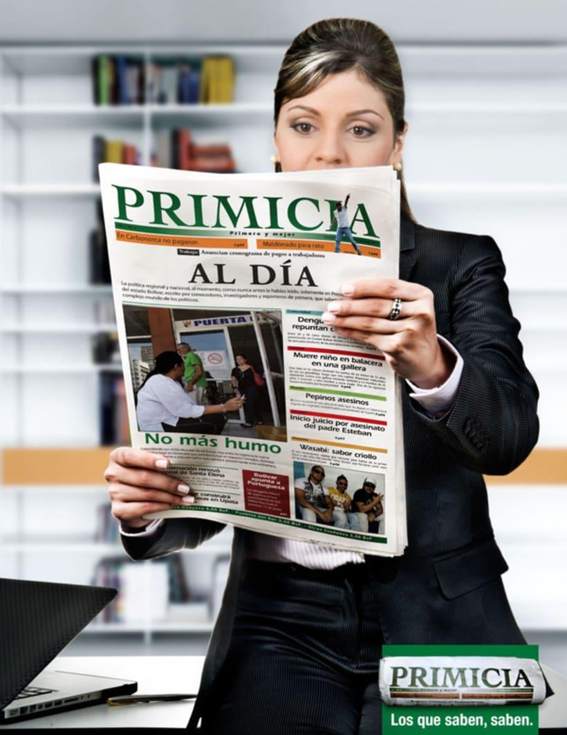 PRIMICIA / LOS QUE SABEN, SABEN. [print] -1