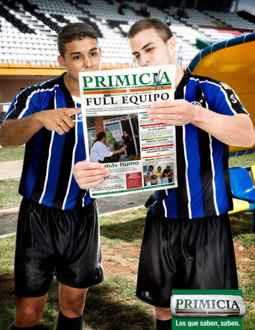 PRIMICIA / LOS QUE SABEN, SABEN. [print] 0