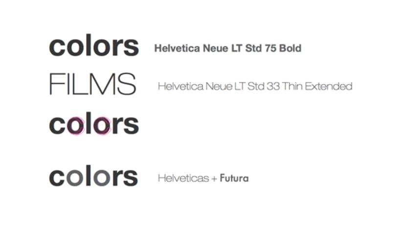COLORS & FILMS [branding] 3