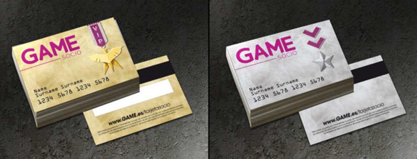 Ganador del concurso de renovación de tarjetas GAME 3