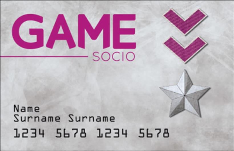 Ganador del concurso de renovación de tarjetas GAME 1