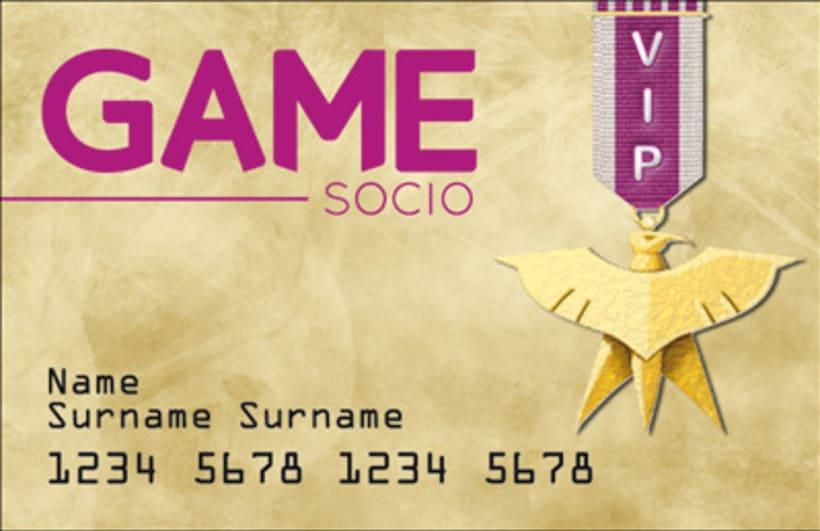 Ganador del concurso de renovación de tarjetas GAME 2