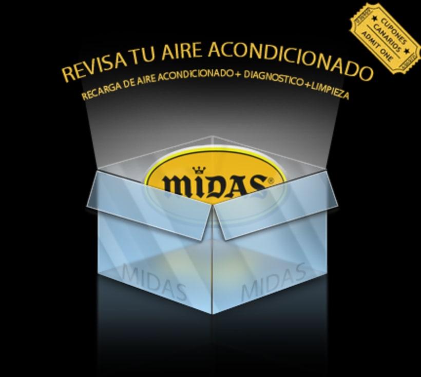 Publicidad y logo creado para Cupones Canarios 7