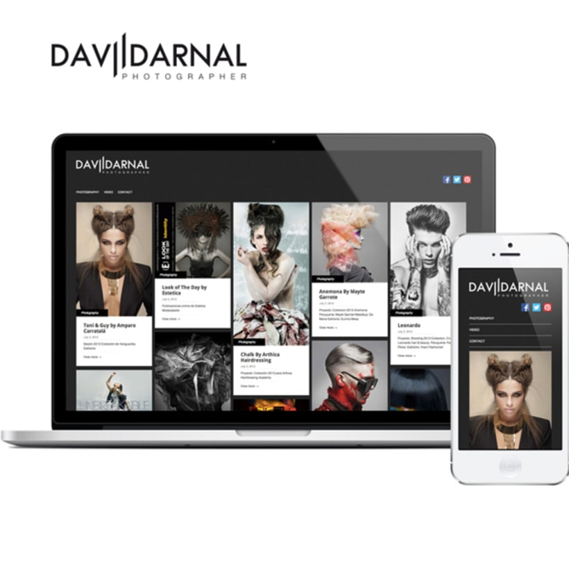 David Arnal Photographer Website -1