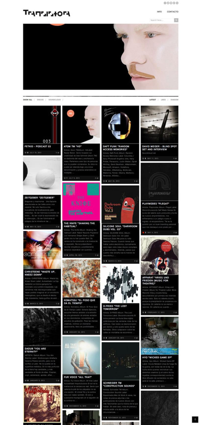 Transistora website 0