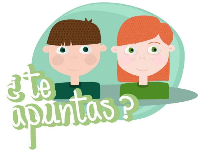 Stickers Line de Ecovidrio 2