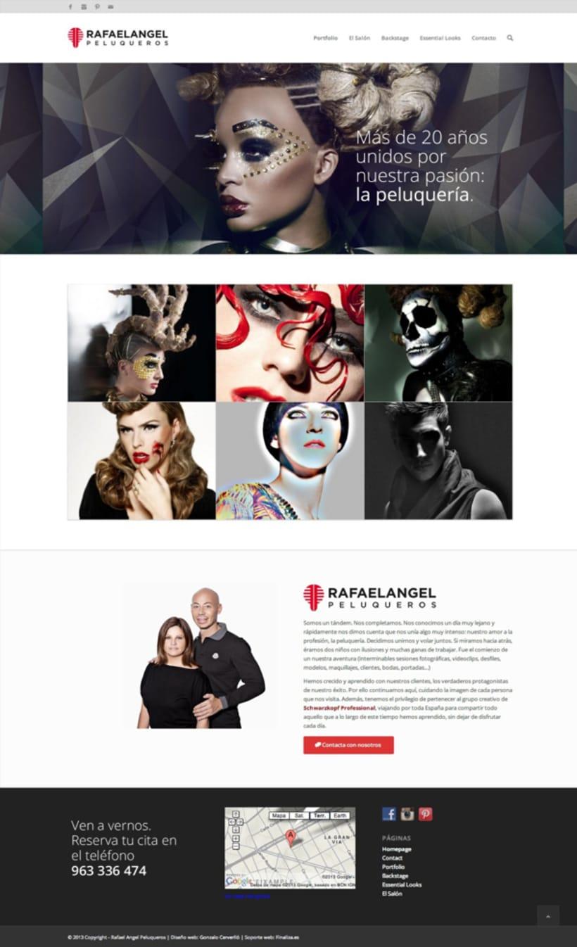 Rafaelangel Peluqueros Branding & Web 1