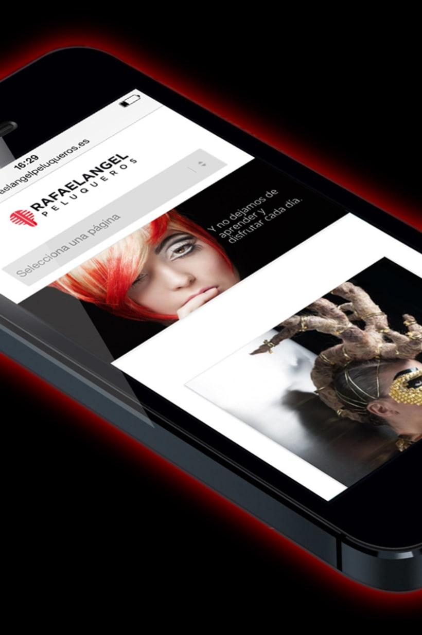 Rafaelangel Peluqueros Branding & Web 3