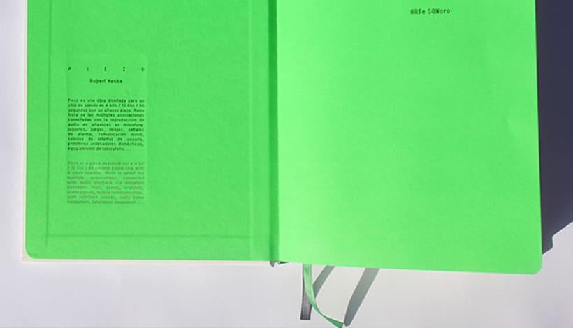 ARTe SONoro, libro sonoro. 2