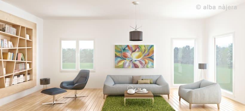 CG INTERIOR (living rooms) 3D RENDER -1