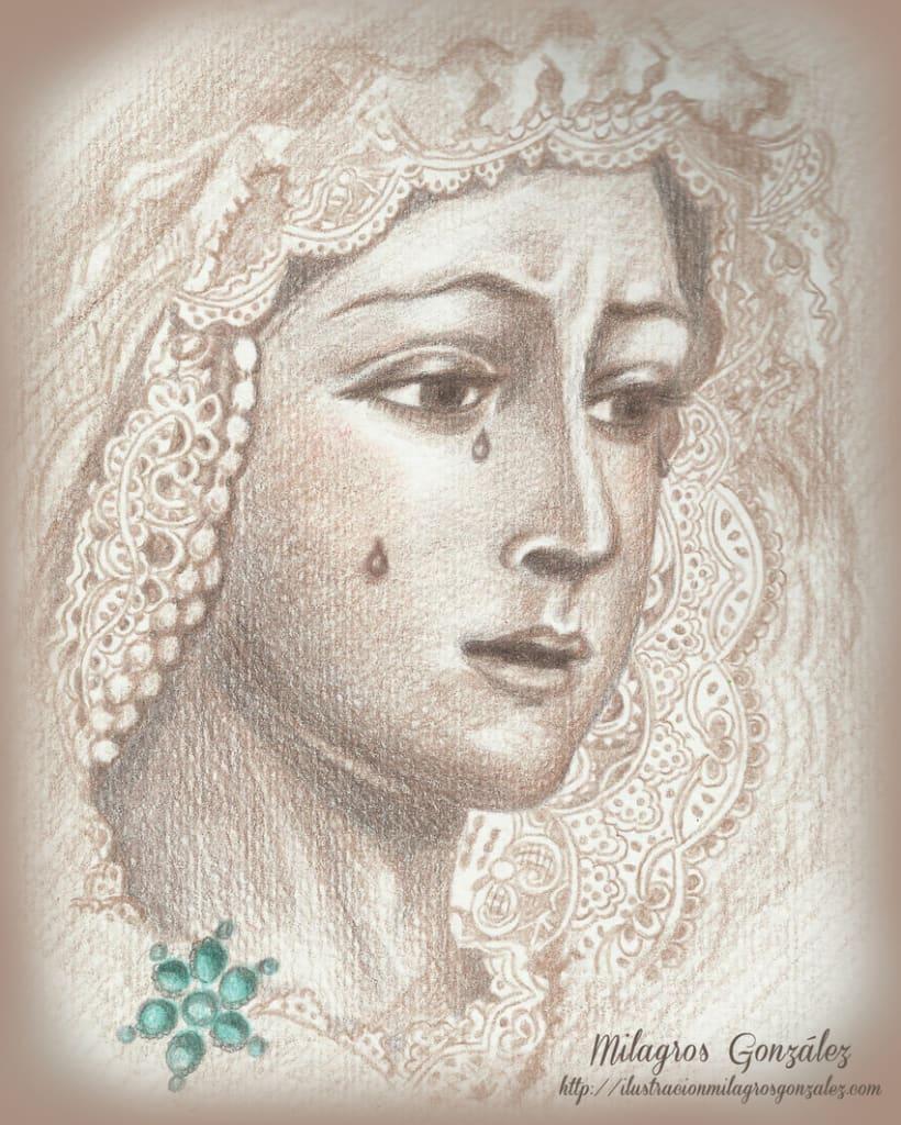 tradicional 7-Virgen de La Macarena 0