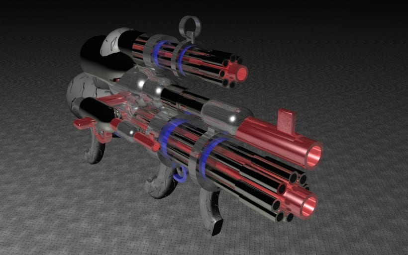 Arma Letal en 3d 1
