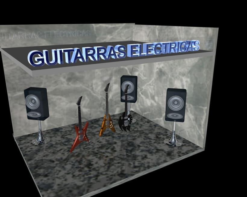 Guitarras Eléctricas en 3d 0
