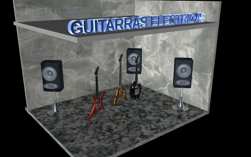 Guitarras Eléctricas en 3d 2