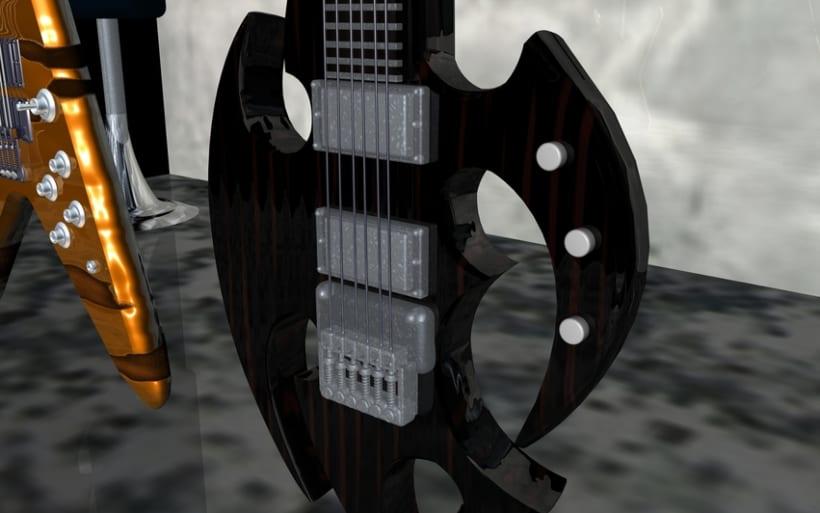 Guitarras Eléctricas en 3d 6