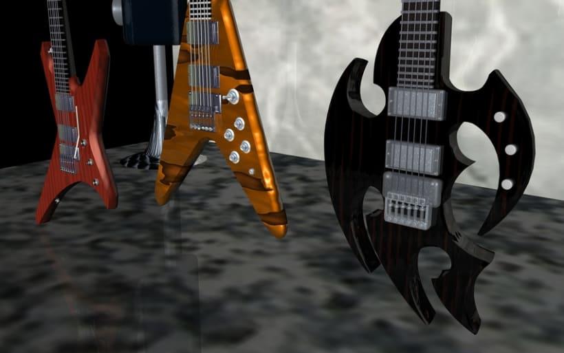 Guitarras Eléctricas en 3d 7
