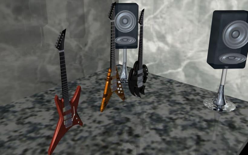 Guitarras Eléctricas en 3d 8