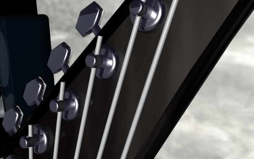 Guitarras Eléctricas en 3d 9