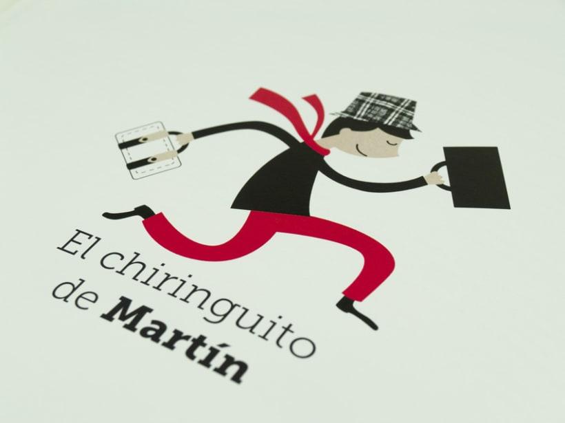 """Libro """"El Chiringuito de Martín"""" 0"""