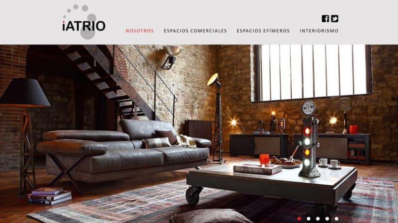 Iatrio - Diseño y maquetación web 1