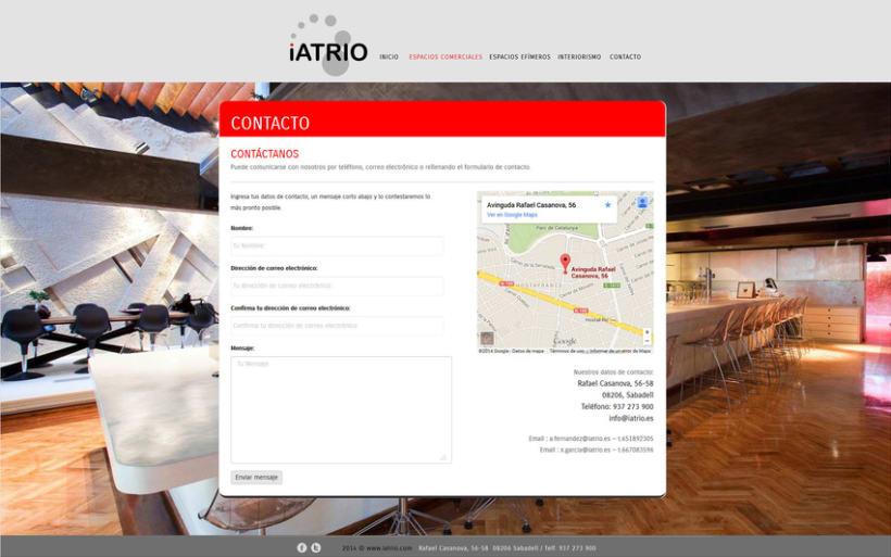 Iatrio - Diseño y maquetación web 3