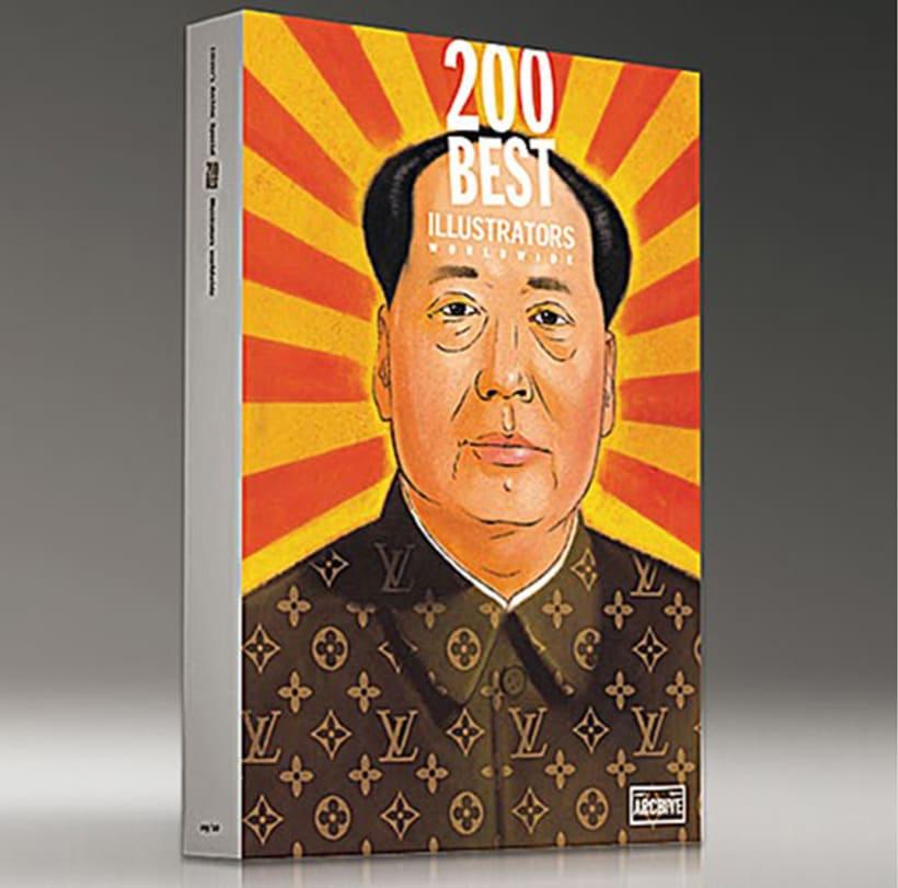 """200 Best Illustrators Worl Wile"" ARCHIVE LÜZER 0"