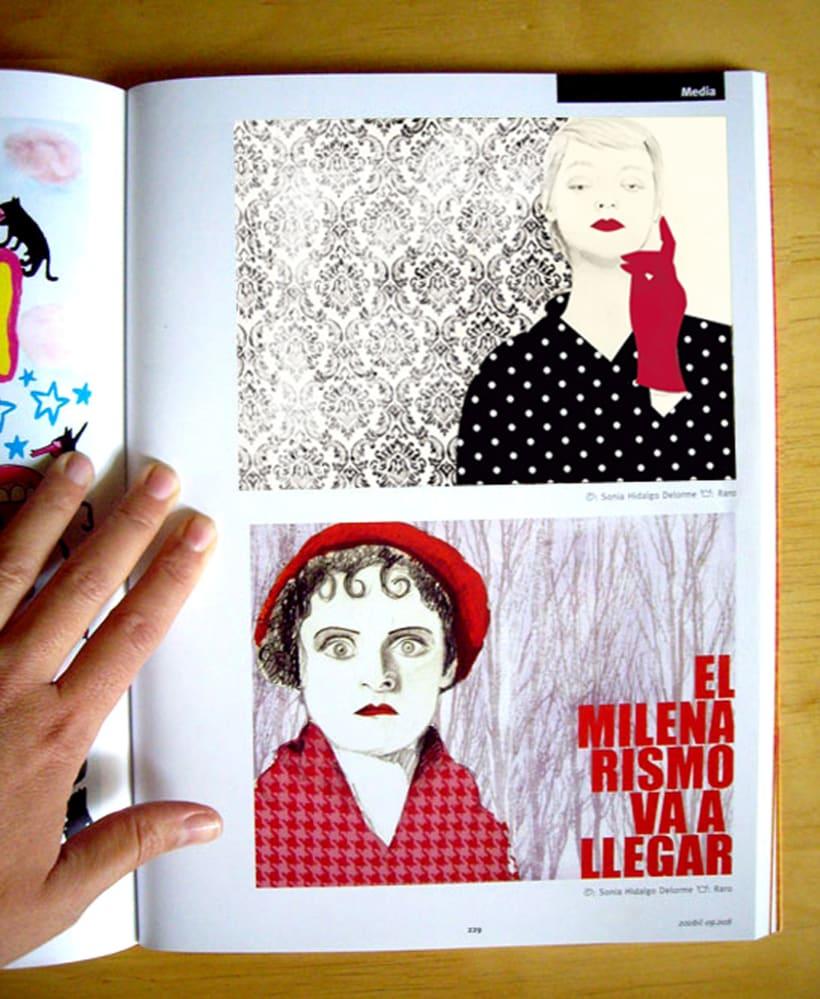 """200 Best Illustrators Worl Wile"" ARCHIVE LÜZER 1"