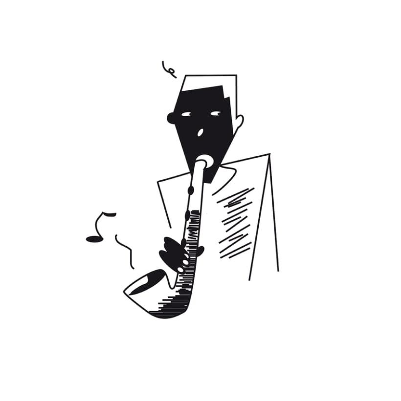 Proyecto NegreBlanc. Ilustraciones en Blanco y Negro 2
