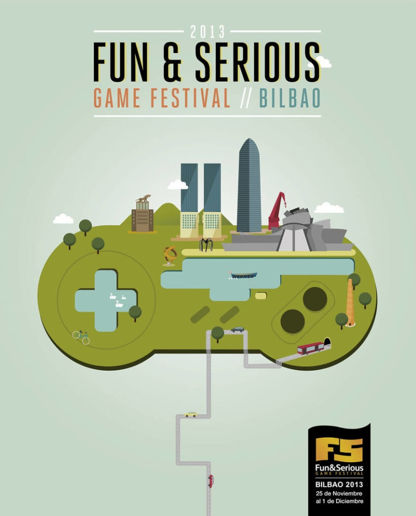 Cartel oficial del Fun&Serious Festival 0